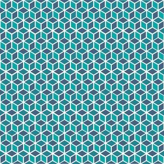 Kubussen patroon ontwerp