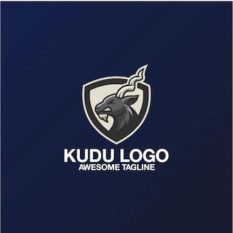 Kudu-logoontwerp geweldige inspiratie-inspiratie