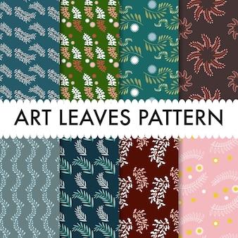 Kunst laat patroon achtergrond