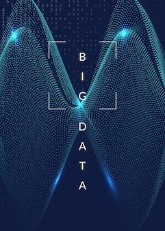 Kunstmatige intelligentie achtergrond. digitale technologie, deep learning en big data-concept. abstracte tech visual voor verbindingssjabloon. futuristische kunstmatige intelligentie achtergrond.