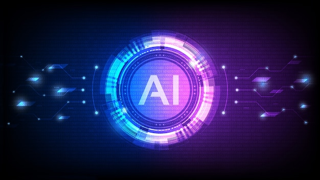 Kunstmatige intelligentie, ai-analyse met circuitlijn