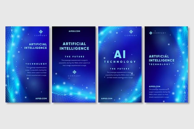 Kunstmatige intelligentie instagram-verhalen
