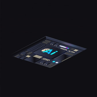 Kunstmatige intelligentie processor.
