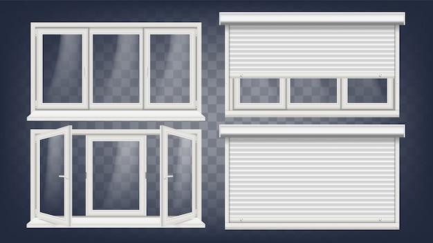 Kunststof pvc venster