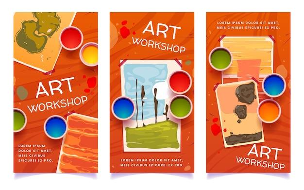 Kunstworkshop social media verhalen