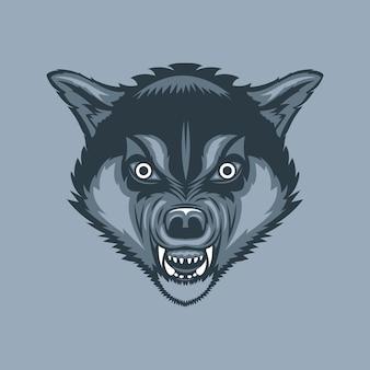 Kwade en enge wolf