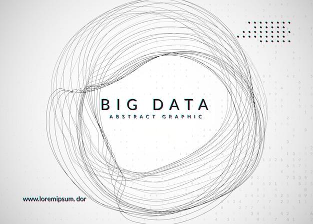 Kwantuminnovatiecomputer. digitale technologie. kunstmatige intelligentie, deep learning en big data-concept. tech visual voor databasesjabloon. kleurrijke quantum innovatie computer achtergrond.