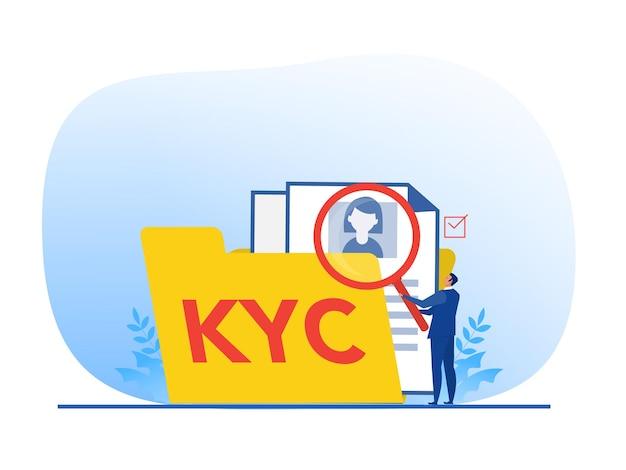 Kyc of ken uw klant met een bedrijf dat de identiteit verifieert