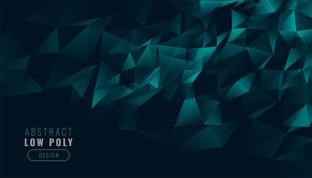 Laag poly abstracte driehoeken achtergrond