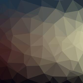 Laag poly geometrie veelhoeken achtergrond met grijze donkere kleur