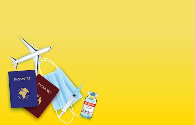 Laat je vaccineren voordat je op reis gaat na een pandemie van het coronavirus