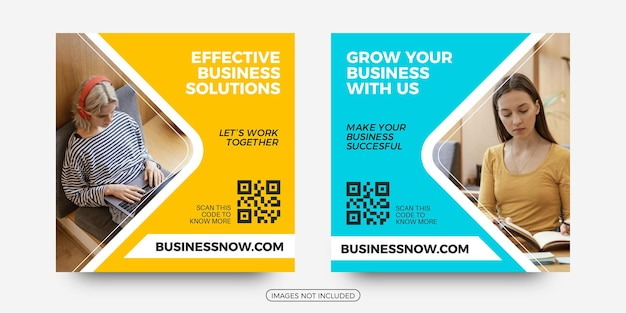 Laat uw bedrijf social media postsjablonen groeien