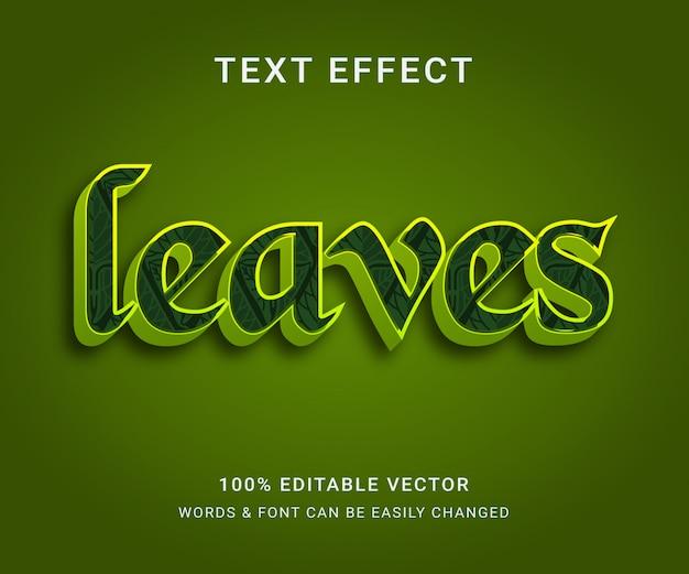 Laat volledig bewerkbaar teksteffect e