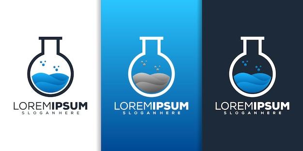 Lab logo ontwerp