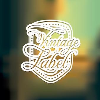 Label ontwerp
