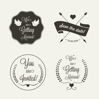 Labels bruiloft