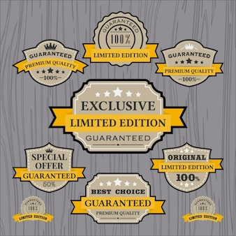 Labels collectie