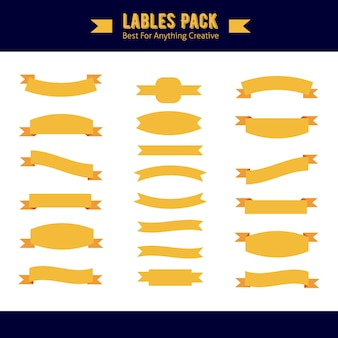 Labels pack