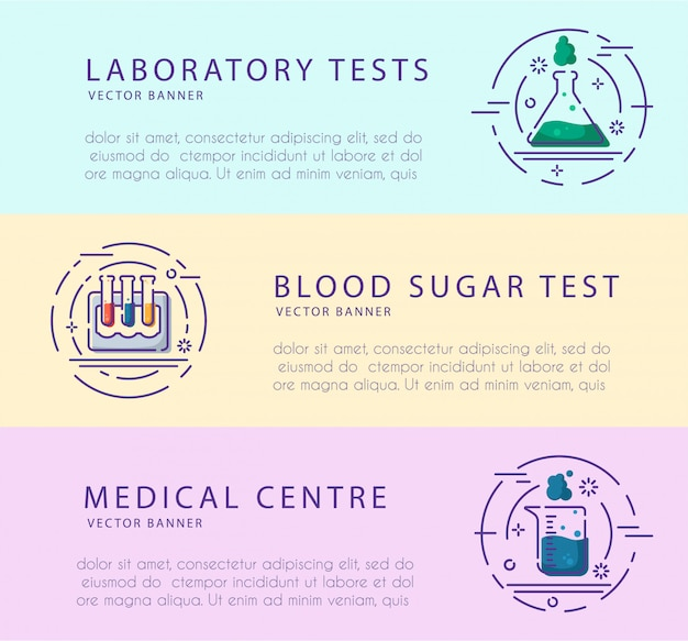 Laboratoriumkolf, reageerbuis voor diagnose, analyse, screeningstests.