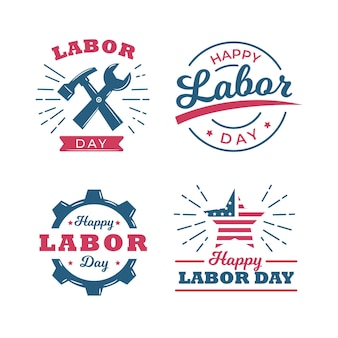 Labour day usa label collectie