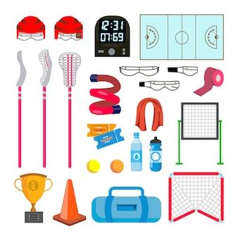 Lacrosse pictogrammen