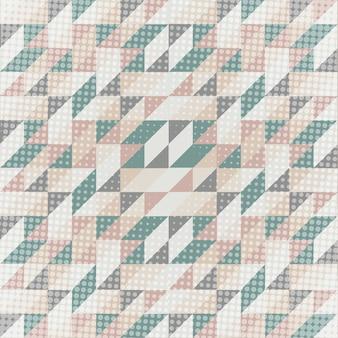 Lage poly abstracte achtergrond in skandinavische kleuren