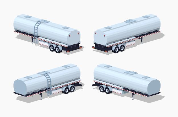 Lage poly-tanktrailer
