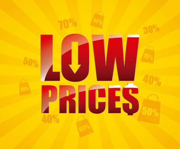 Lage prijs