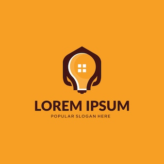 Lamp en home-logo