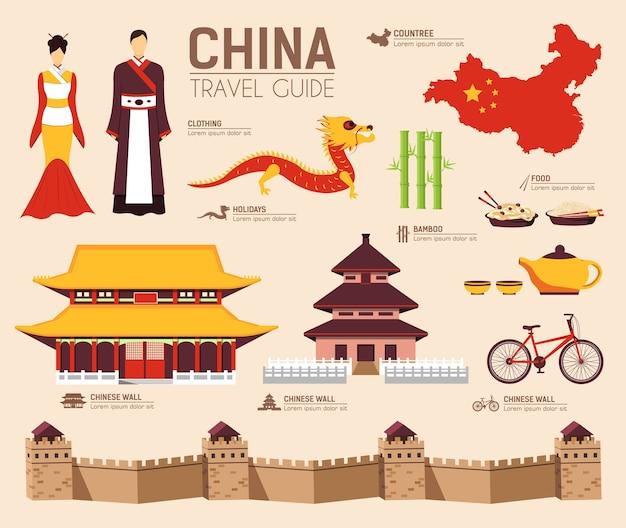 Land china reis vakantiegids van goederen