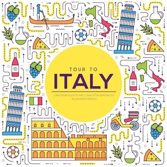 Land italië reis vakantiegids
