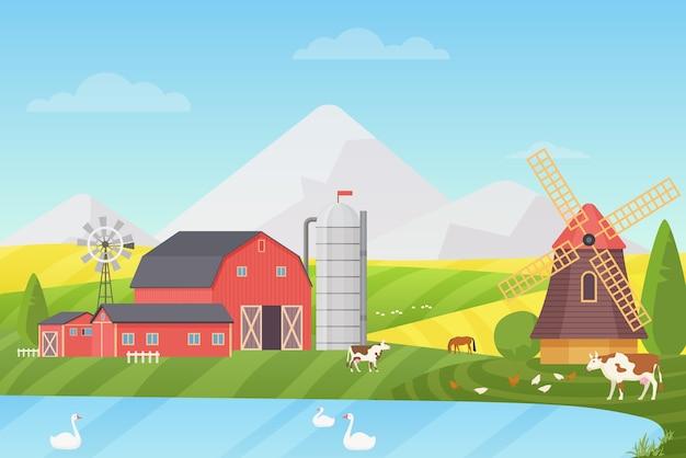 Landbouw, agribusiness en landbouw