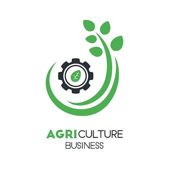 Landbouw bedrijfslogo