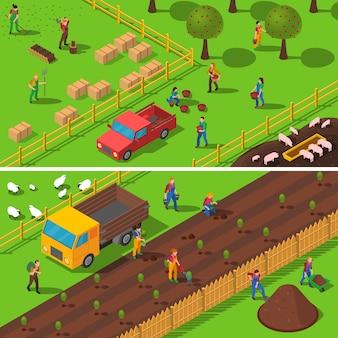 Landbouw concept