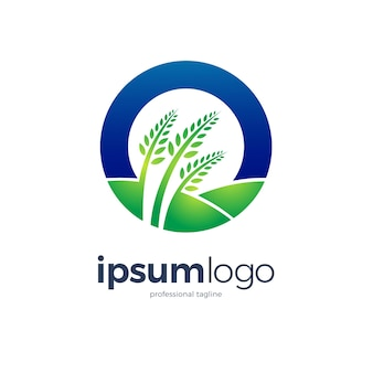 Landbouw logo ontwerp