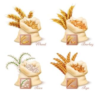 Landbouwgraanproducten