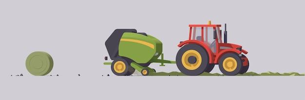 Landbouwmachines met uitrusting