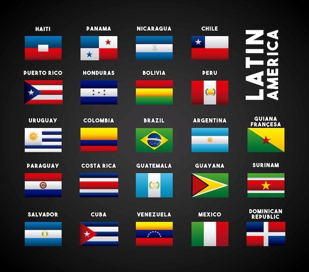 Landen in latijns-amerika