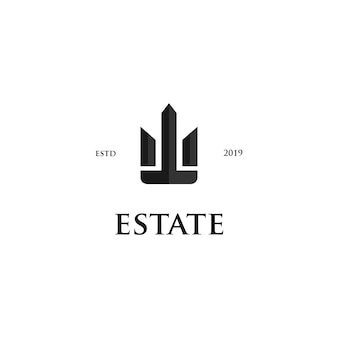 Landgoed letter w logo