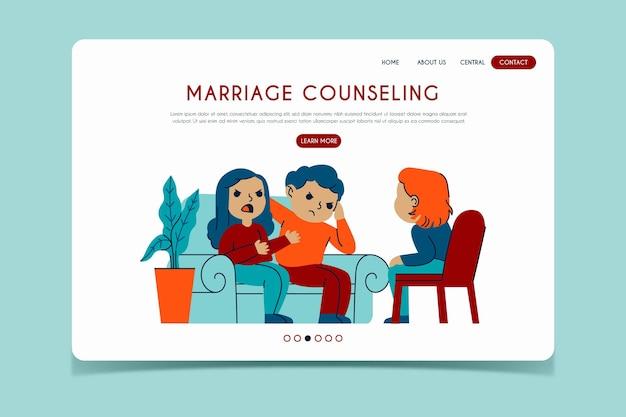 Landingspagina huwelijkstherapie