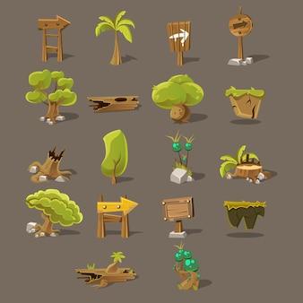 Landscaping set