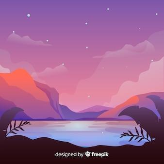 Landschap achtergrond