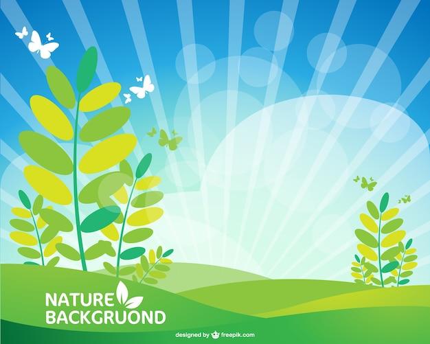 Landschap gratis wallpaper