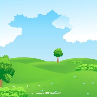 Landschap landschap vector