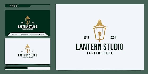 Lantaarn muziek logo ontwerp inspiratie. deel 2