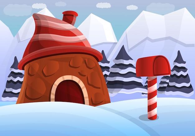 Lapland concept achtergrond