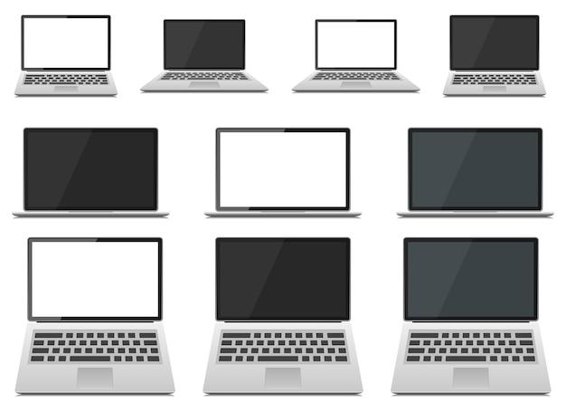Laptop apparaat ontwerp illustratie geïsoleerd