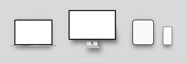 Laptop, desktopcomputer, tablet-pc, smartphonemodellen