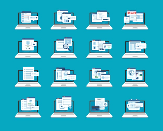 Laptop- en documentbestanden instellen