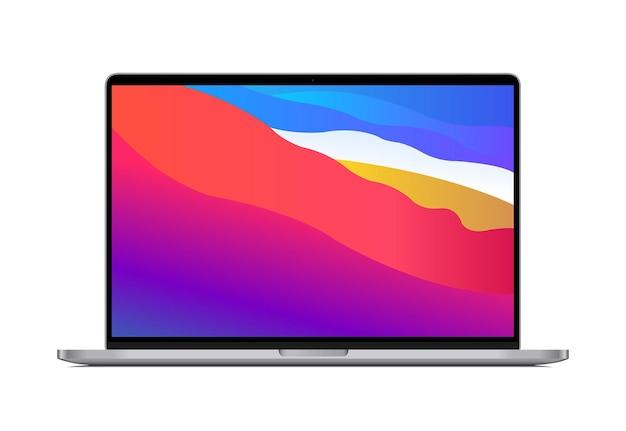 Laptop pro-illustratie